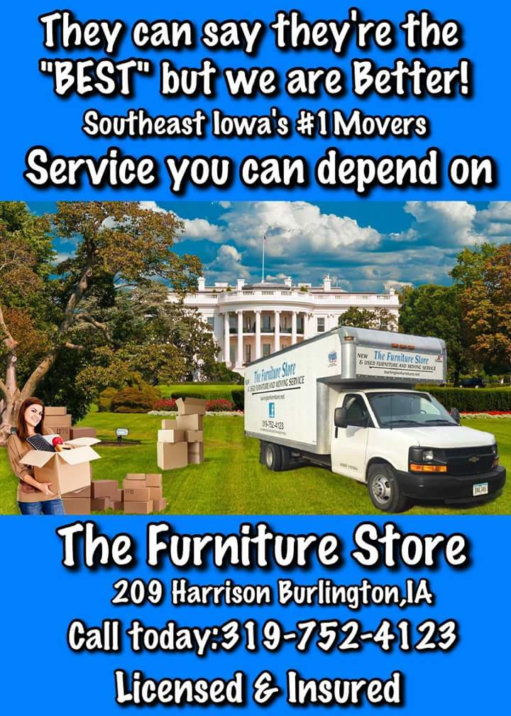So Stop In To The Furniture Burlington Iowa